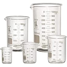 Glass Beaker Sets, 3.3 Borosilicate Glass, Karter Scientific