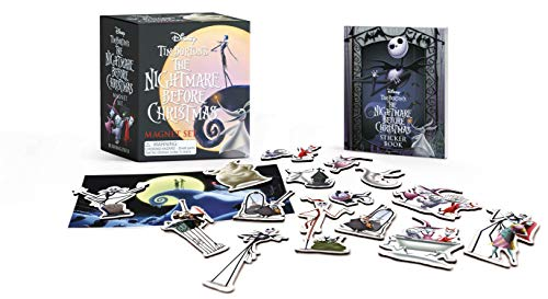 (Tim Burton's The Nightmare Before Christmas Magnet)