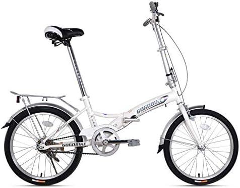 SYLTL 16/20in Bicicleta Plegable Unisex Adulto IR a Trabajar ...