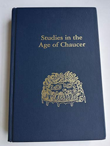 Studies in the Age of Chaucer: Volume 36 (NCS Studies in the Age of Chaucer)
