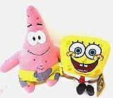SpongeBob SquarePants and Patrick Star 2 Plush Doll Stuffed Toy