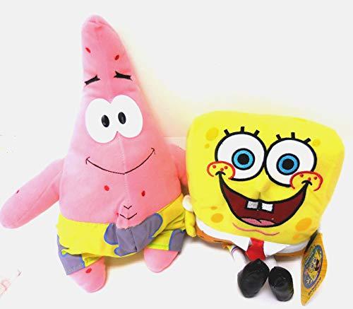 (SpongeBob SquarePants and Patrick Star 2 Plush Doll Stuffed Toy)