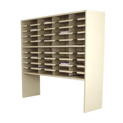 Storage shelves Finish: Putty