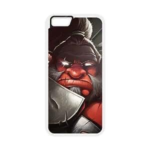Mogul Khan Axe Dota 2 Art 95,144 iPhone 6 4.7 pulgadas del teléfono celular funda blanca del teléfono celular Funda Cubierta EEECBCAAL70029