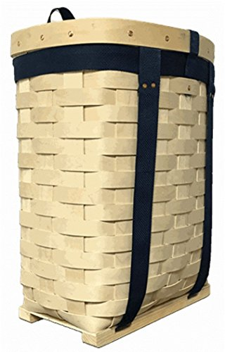 (AuSable® Brand Trappers Hardwood Veneer Pack Basket 18
