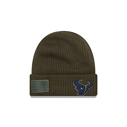 New Era 2018 Mens Salute to Service Knit Hat (Houston Texans) -