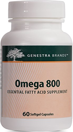 Genestra Brands   Omega 800   Essential Fatty Acid Formula Supports Cognitive Health And Brain Function    60 Softgel Capsules