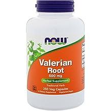 NOW Foods - Valerian Root 500 mg. - 250 Capsules