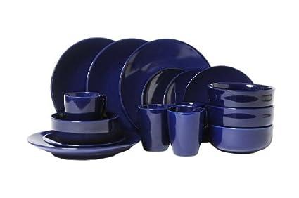 sengWare 16-Piece Classic Round Dinnerware Set Blueberry  sc 1 st  Amazon.in & Buy sengWare 16-Piece Classic Round Dinnerware Set Blueberry Online ...