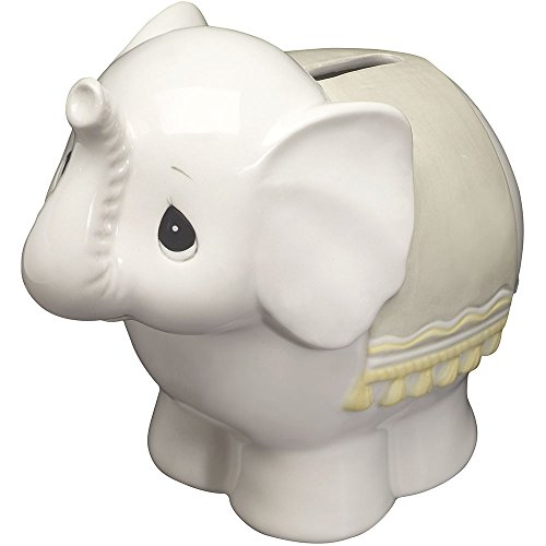 Precious Moments 162426 Baby Elephant Bank Ceramic Figurine