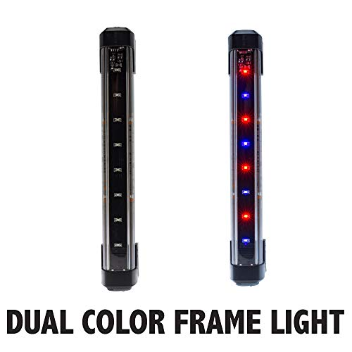 Bike Party Dual Color Frame Light Purple/Red