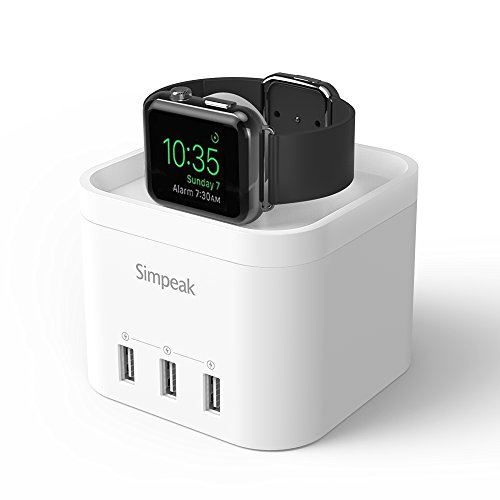 Simpeak Charger Station Nightstand Smartphone