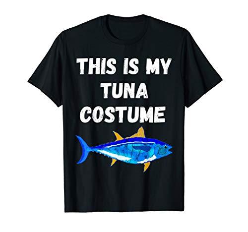 This Is My Tuna Costume Bluefin Tuna Fish Fishing T-Shirt