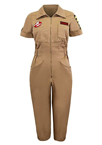 Mighty Fine Womens Ghostbusters Venkman Romper -