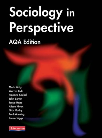 Read Online Sociology in Perspective AQA Edition Student Book (Sociology in Perspective for AQA) ebook