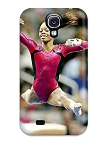 Fashion Tpu Case For Galaxy S4- Gabby Douglas Gymnastics Defender Case Cover