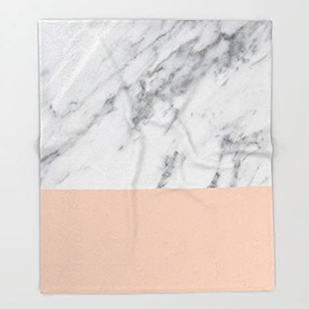 Society40 Marble And Blush Pink Throw Blankets 40 X 400 Blanket Impressive Blush Pink Throw Blanket