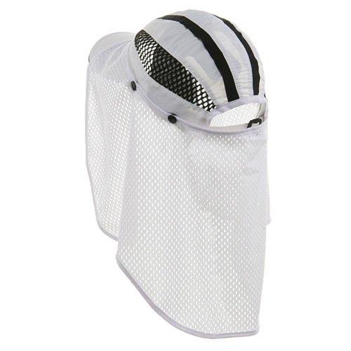 Talson UV Flap Cap - White