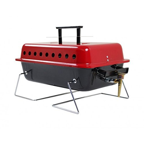 Crusader Gordon Portable Gas BBQ for Camping & Caravans by Crusader: Amazon.es: Deportes y aire libre