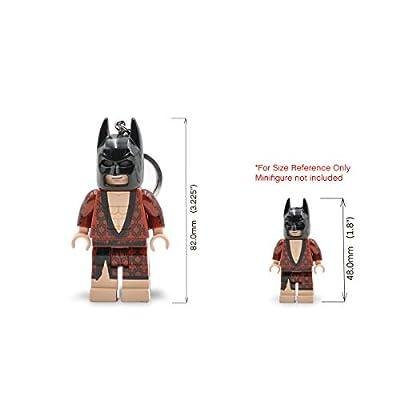 IQ The Lego Batman Movie Kimono Batman LED Key Light: Toys & Games