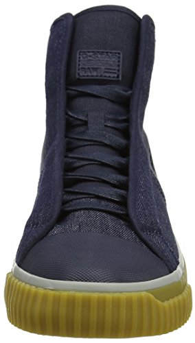 G-star Mens Scuba Mid Denim Sneaker Marine