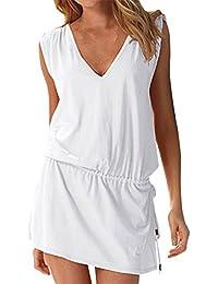 Whites Women S Swimsuits Cover Ups Amazon Com