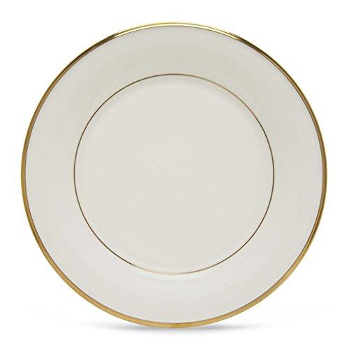 Bone White Dinner Plates (Lenox Eternal White Gold Banded Bone China Dinner Plate)