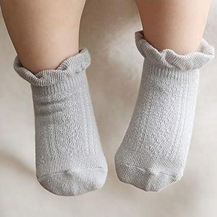 Wansan Baby Socks Princess Toddler Sock Anti-slip Socks for Baby Girl