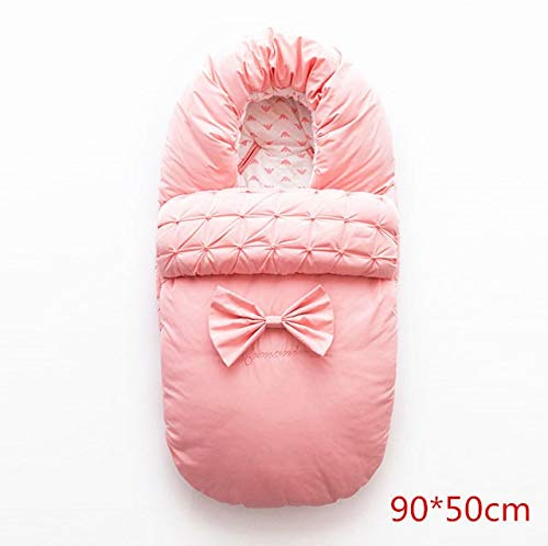 $76.80 Target Infant Car Seats HBK Winter Baby Thicken Cotton Sleeping Bag Warmer Newborn Stroller Envelope Sleep Sack Windproof Antifreeze Soft Stroller Footmuff 2019