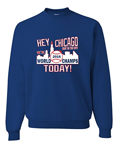 X-Large Royal Adult Hey Chicago We