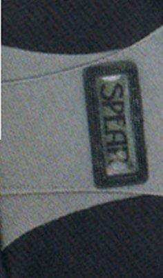 Sporttasche Freizeittasche 1434 SPEAR Sport mit Handyfach, Adressfach schwarz/oliv ca. 56,0 x 29,0 x 26,0 cm