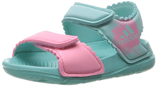 Price comparison product image adidas Performance Girls' Altaswim g I Sandal, Easy Mint/Easy Pink/Easy Pink, 7 M US Toddler