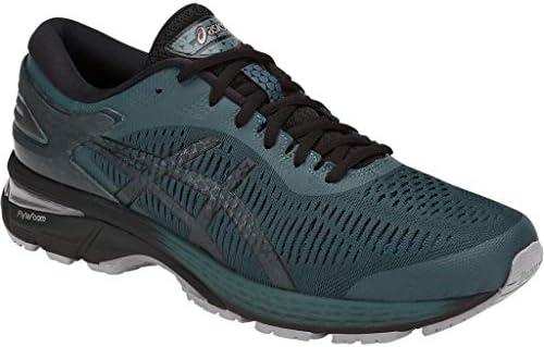 ASICS Men's Gel-Kayano 25 Running Shoes, 9.5M, IRONCLAD/Black 2