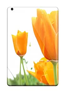 Protective Tpu Case With Fashion Design For Ipad Mini/mini 2 (flower)