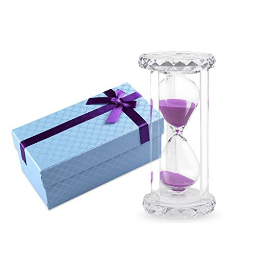 [Life-C 30 mins Sandglass Hourglass Sand Clock Timer (Pink Sand)] (Halloween Decorations New York)