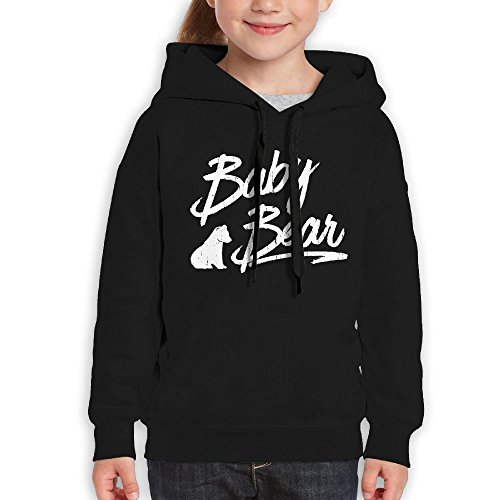 Bearded Dragon Costumes For Sale (FDFAF Teenager Youth Baby Bear Mountain Climbing Cool Hoodie Hoodies XL Black)
