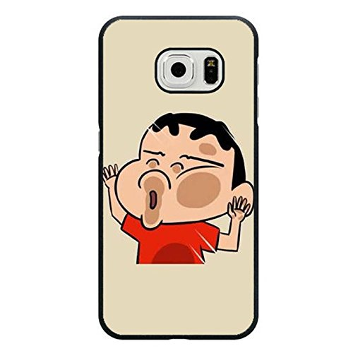 Samsung Galaxy S6 Edge Handy Fall Crayon Shin-chan kawaii Image Classic Anime Cover