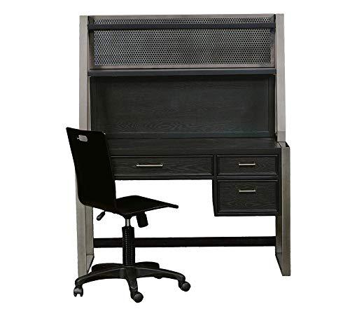 (Pulаski Deluxe Premium Collection Graphite Desk Hutch (Top Only Requires Base) Decor Comfy Living Furniture)