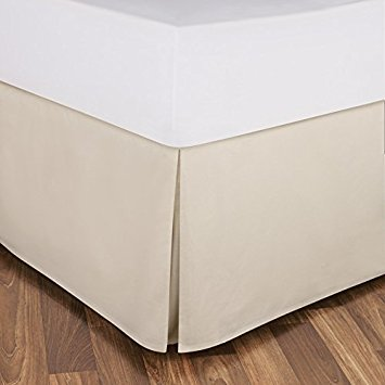 16 Inch Fall Bed Skirt 400 TC Solid Pattern 100% Egyptian
