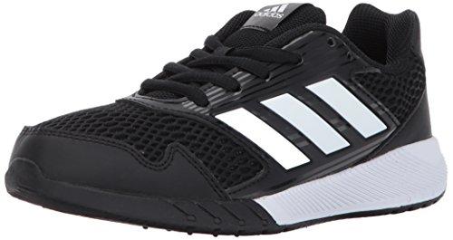 adidas Performance Boys' Altarun K Running Shoe, Black/White/Black, 2.5 Medium US Little Kid by adidas (Image #1)