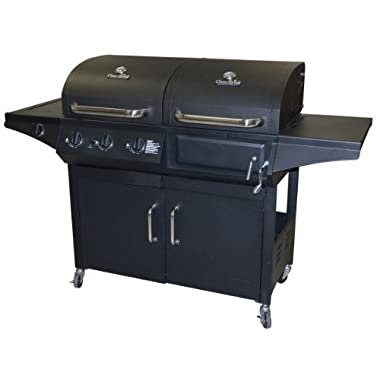 Char-Broil Gas & Charcoal Combo Grill, Deluxe