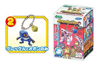Pokemon Croagunk Diamond & Pearl Mini Keychain Figure (~1