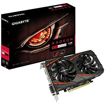 Gigabyte Radeon Rx 460 Windforce OC 2GB GDDR5 Graphics Cards (GV-RX460WF2OC-2GD)
