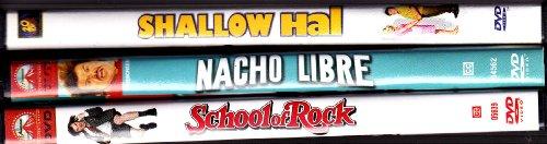 Shallow Hal , Nacho Libre , School of Rock : Jack Black Triple Pack