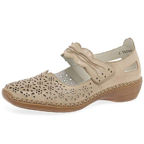 Eu Vainilla Womens Shoes Jane Detail Rieker 39 Mary Punched Dollar 8xqwPUfZ
