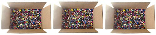 The Beadery Bonanza 5LB of Mixed Craft Beads, Sizes, Multicolor (Тhree Pаck) by The Beadery (Image #3)