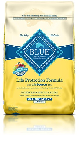BLUE Life Protection Formula Adult Healthy Weight Chicken and Brown Rice Dry Dog Food