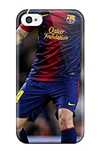 Defender Case For Iphone 4/4s 2013 Cesc Fabregas Fc Barcelona Pattern