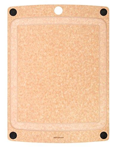 """Epicurean 505-181301003 Wood Cutting Board, Beige, 17.5"""" X 1"""