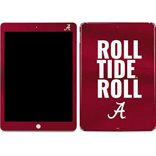 Skinit Alabama Roll Tide Roll iPad 9.7in (2017) Skin - Officially Licensed College Tablet Decal - Ultra Thin, Lightweight Vinyl Decal Protection